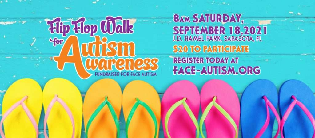Join Face Autism as we connect the entire autism community around the nation, get some exercise and raise funds for Face Autism.